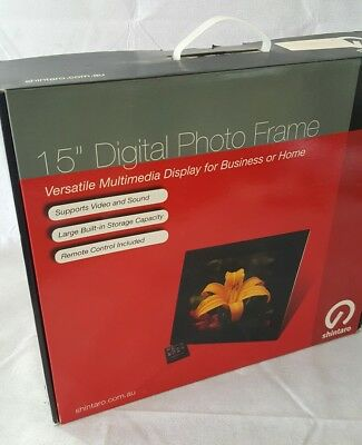 New 15 inch HD lcd Digital Photo Picture Frame MP3 MP4 Movie+Remote Control