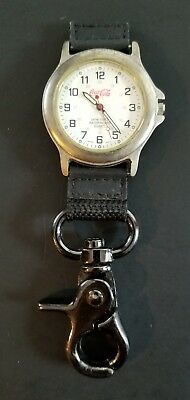 Coca Cola Quartz Clip-On Watch By CROTON ~ Water Resistant