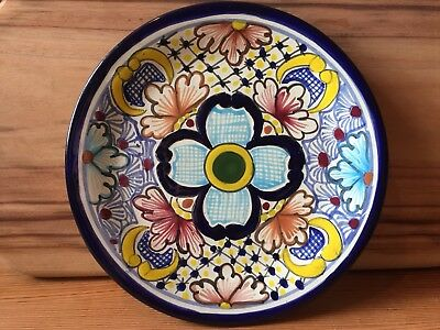 Traditional Mexican Wall Plate Made In Mexico