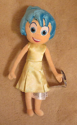 """Disney Store Inside Out Plush Doll Named Joy 14"""" New with Tags"""