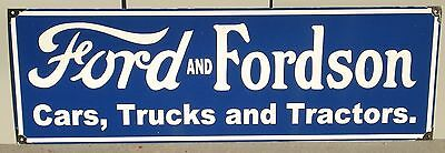 Ford And Fordson Enamel Sign (Made To Order) #17