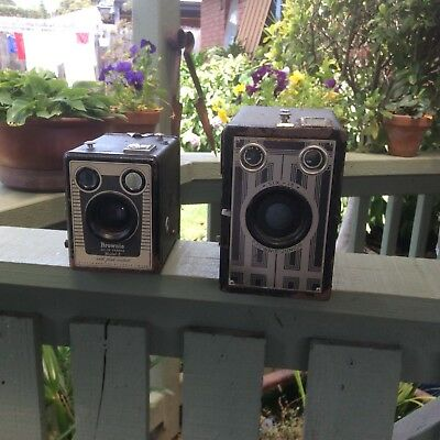 Old Box Brownie Cameras