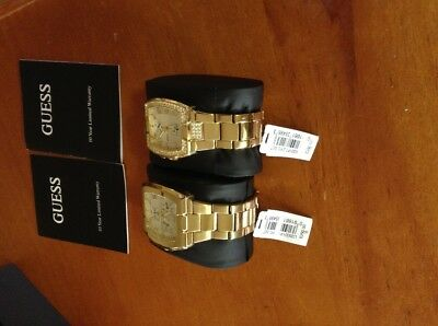 Two Guess watches by Marciano ,man's and women's. PRR $520