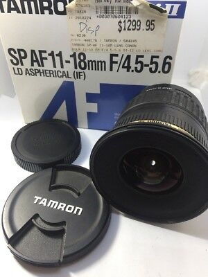Tamron SP 11-18mm f/4.5-5.6 LD Aspherical IF Lens for Canon