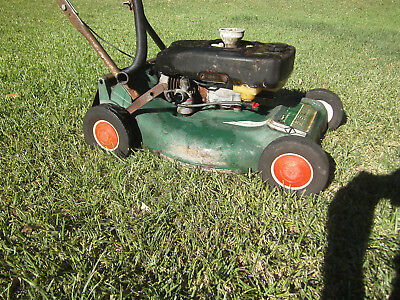 Vintage Victa 1960's Lawn Mower branded M.S.A.A.