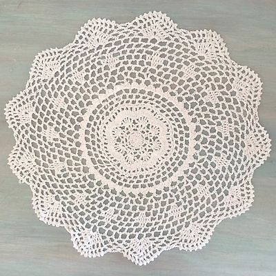 40 Cm New White Crochet Lace Doily
