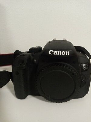 Canon EOS 700D Digital SLR with EFS 18-55MM and EFS 55-250mm lenses