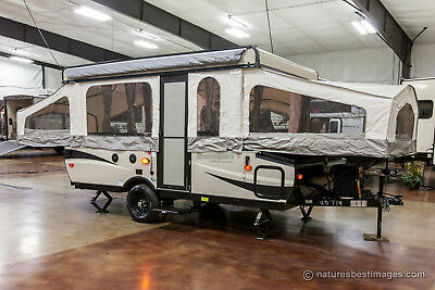 New 2017 Model T12STS Pop Up Fold Down Slide Out Camping Trailer Never Used