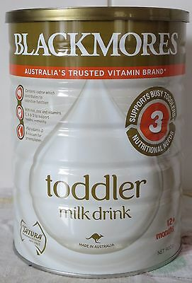 Blackmores Toddler Milk 900g BRAND NEW FACTORY SEALED BB 04/18 P/UP 3058 OR POST