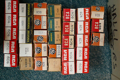 One Tube 6C4 Nos Nib Various Brands