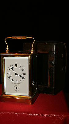 Antique carriage clock by couaillet Freres