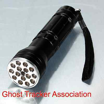 ghost hunting LED torch uv & red laser 3 in 1 paranormal equipment flashlight UK