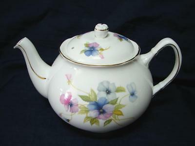 Vintage DUCHESS bone china 6 cup teapot PANSY pattern