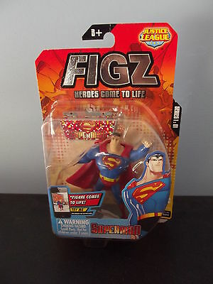 Figz Heroes Come To Life Superman Justice League