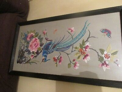 chinese pheasant fabric picture