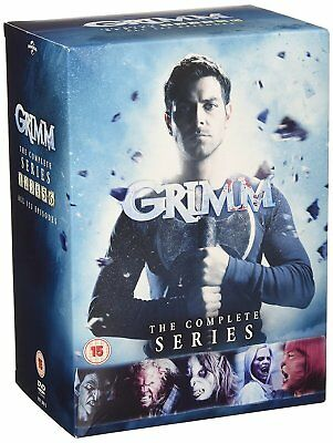 GRIMM The Complete Series Stagioni 1-6 BOX 33 DVD in Inglese Nuovo