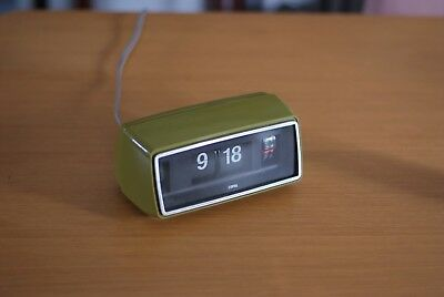 Vintage Copal Flip Clock, Retro Charm, Rare, Made in Japan, Great Condition