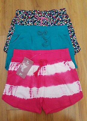 BNWT girls 2-3 years shorts 3 pack TU gorgeous holiday