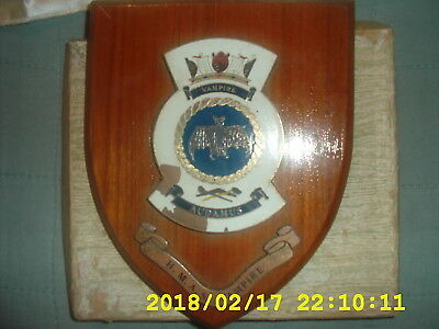 Hmas Vampire Royal Australian Navy Wall Shield & Pennant