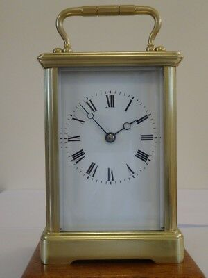 Lovely antique Margaine timepiece carriage clock - c. 1905 - fully overhauled