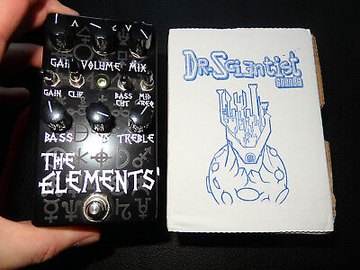 Dr. Scientist The Elements black, Booster / Overdrive / Distortion / Fuzz