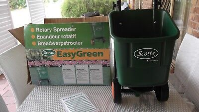 Scotts Easy Green Rotary Lawn Spreader - Green - pick up Gold Coast