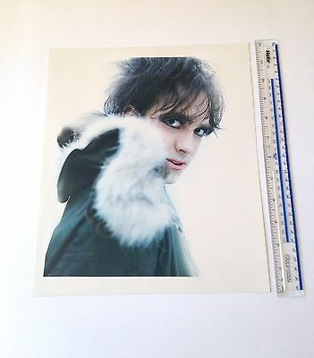 Robert Smith / The Cure 4 x C-type Prints / 10 inch x 12 inch hand printed