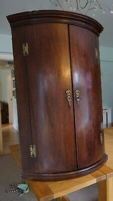 antique mahogany Corner Cupboard