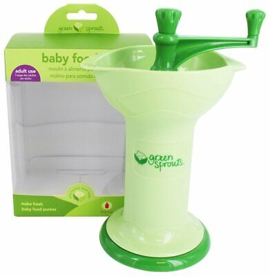 Green Sprouts - Baby Food Mill Green, 8 Oz Capacity - 1 Count (Pack Of 3)