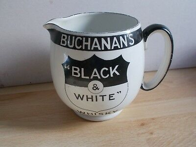 Ancien pichet BUCHANAN'S WHISKY BLACK & WHITE