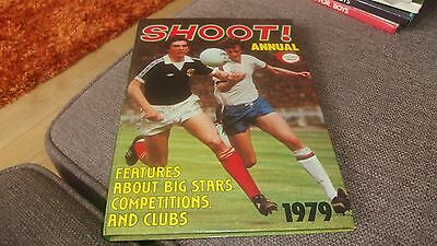 Shoot  Annual  1979   -  Price Unclipped Good Condition   Football Annual