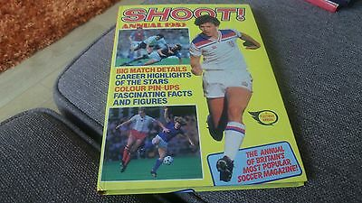Shoot  Annual  1983   -  Price Unclipped Good Condition   Football Annual