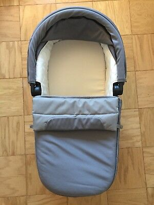 Baby Jogger Deluxe Pram - Gray 2017 model Perfect Condition