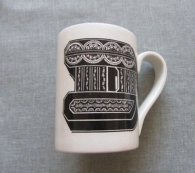 Very Rare Early Lapadaire Alphabet Mug
