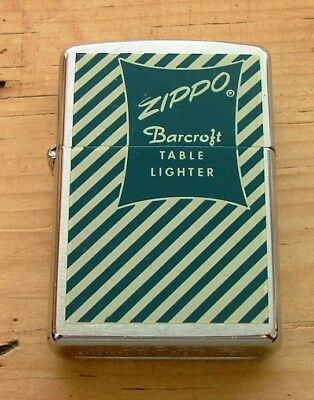 1997 Limited Edition 14/50 Barcroft Commemorative Zippo Lighter New And Unstruck