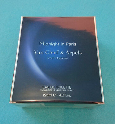 Van Cleef & Arpels Midnight In Paris 125 Ml New Sealed