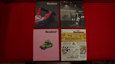 Rouleur cycling  journals x4 postage  free