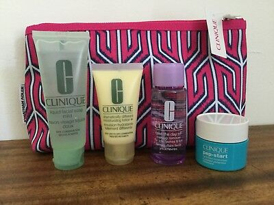 CLINIQUE Skin Care Bundle remover moisturiser plus more