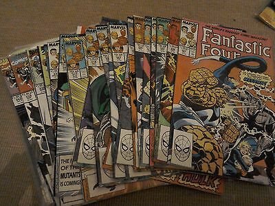 Fantastic Four Comics vol 1 Bundle 27 comics in all
