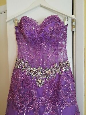 tony bowls prom dress pageant gown size 4