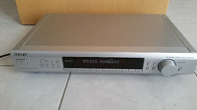 --->   Sony ST-SE 520 silber Stereo - Tuner mit RDS / EON   <----