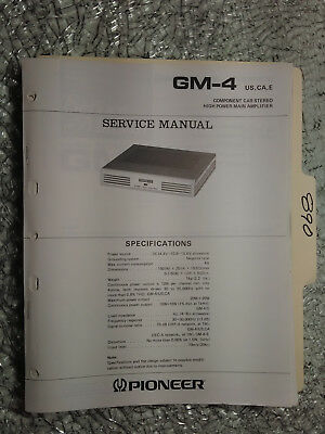 Cheap user user manuals book car amps user manuals array pioneer gm h120 service manual original repair book stereo amp rh picclick com fandeluxe Choice Image