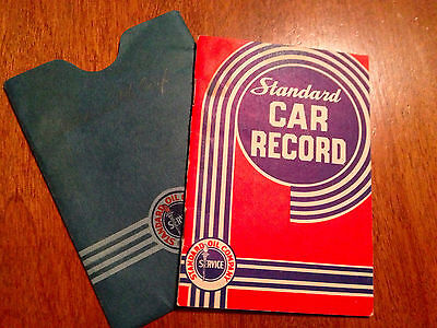 1932 Standard Oil Company Indiana Standard Car Record, Used