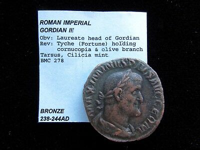 Roman Imperial Bronze - 238-244AD - Extremely nice condition!