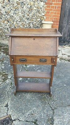 Antique Oak Writing Bureau