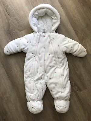 NWOT Absorba Baby Girl's Snowsuit Size 3 Months