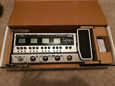 Zoom G5 multi effects pedal