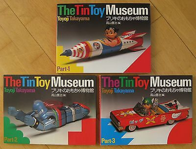 Tin Toys Cars & Robots & Spaceships The Takayama Collection Band 1+2+3 !!!