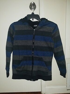 Tony Hawk Boys Zip Jacket Size M Hoodie Fleece Lined Sweater