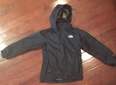 Boys Black Triclimate North Face TNF shell Sz Small S 6